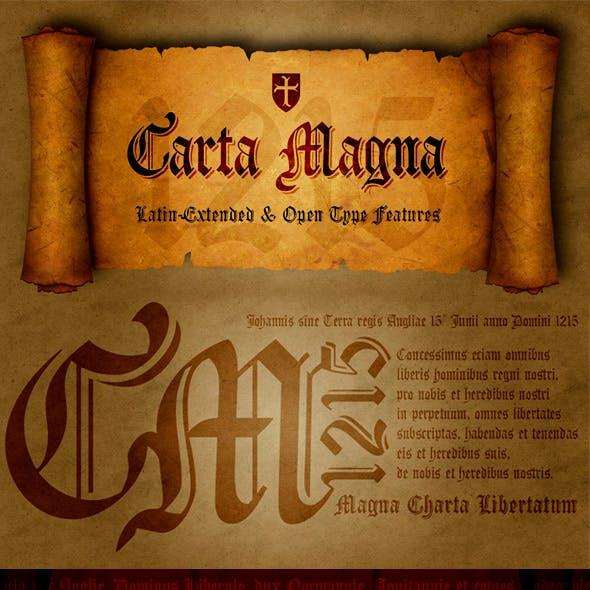 Carta Magna Fonts
