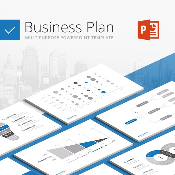 Business Plan - Multipurpose PowerPoint Template