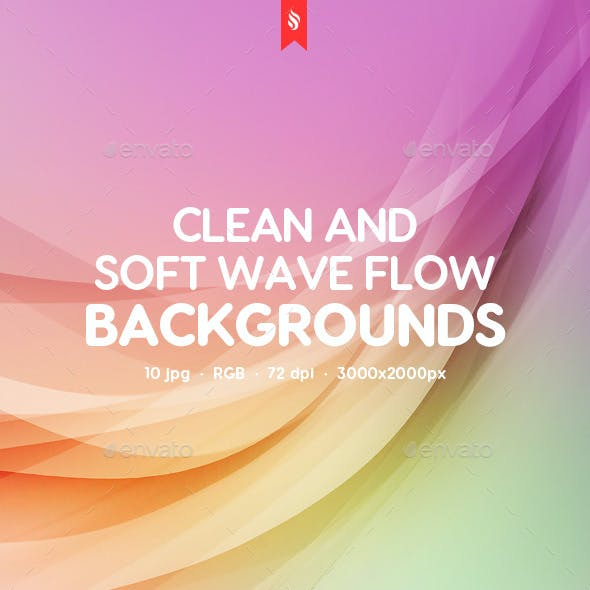 Soft Wave Flow Backgrounds