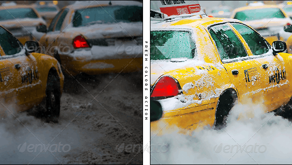 Fresh Color Action - Photo Effects Actions