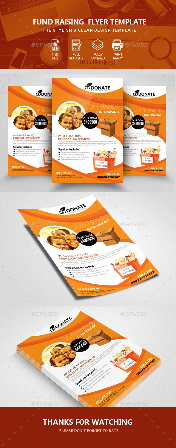 Charity Flyers Psd Templates - Corporate Flyers