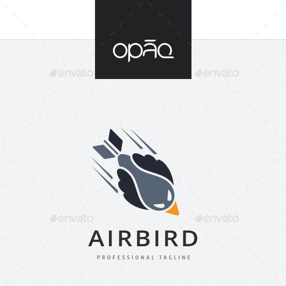 Air Flight Bird Logo