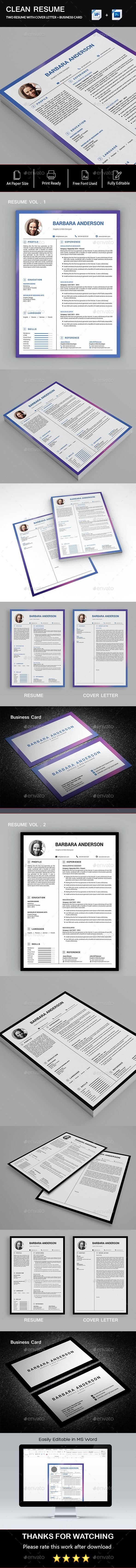 Word Resume - Resumes Stationery
