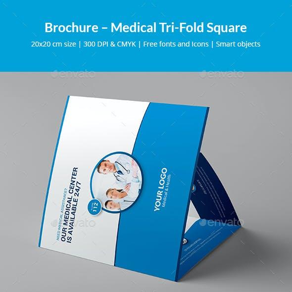 Brochure – Medical Tri-Fold Square