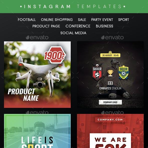 InstaTemp v.2.0 Instagram Templates