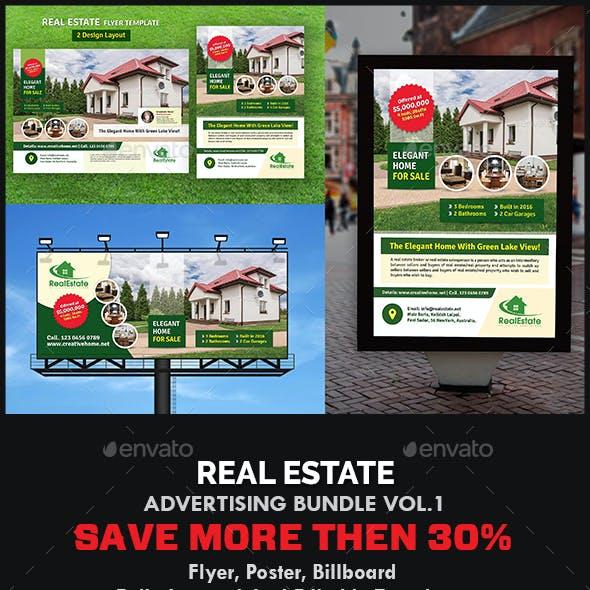 Real Estate Advertising Bundle Vol.1