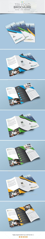 Trifold Brochure Template 16 - Corporate Brochures
