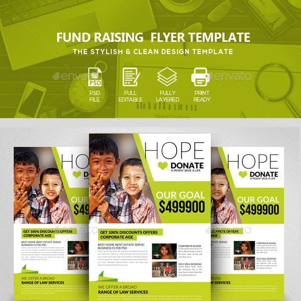 Donation & Charity Flyers