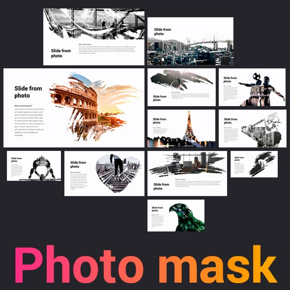 Photo Mask Keynote Template