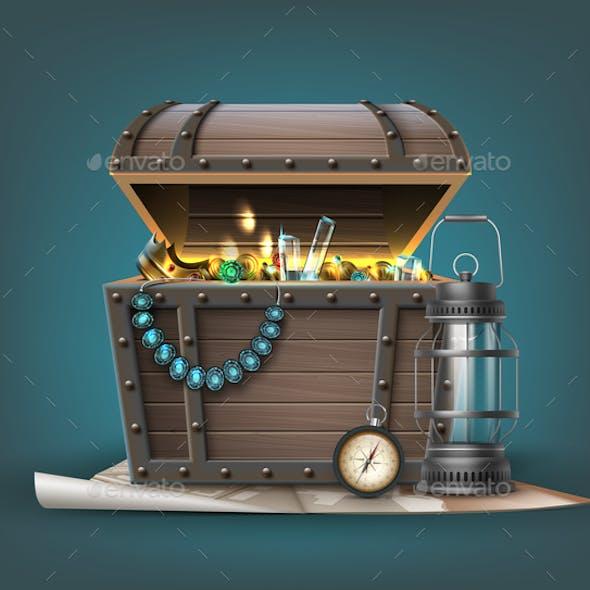 Vector Treasure Chest
