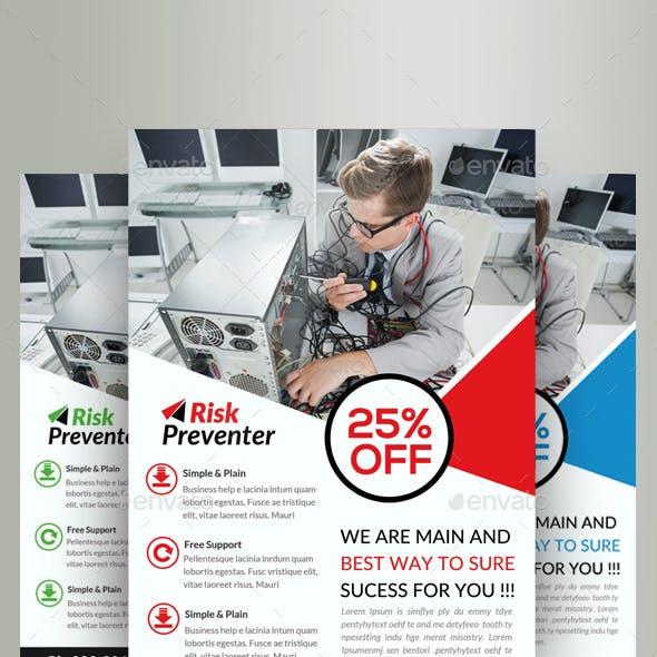 Computer Repair Service Flyer