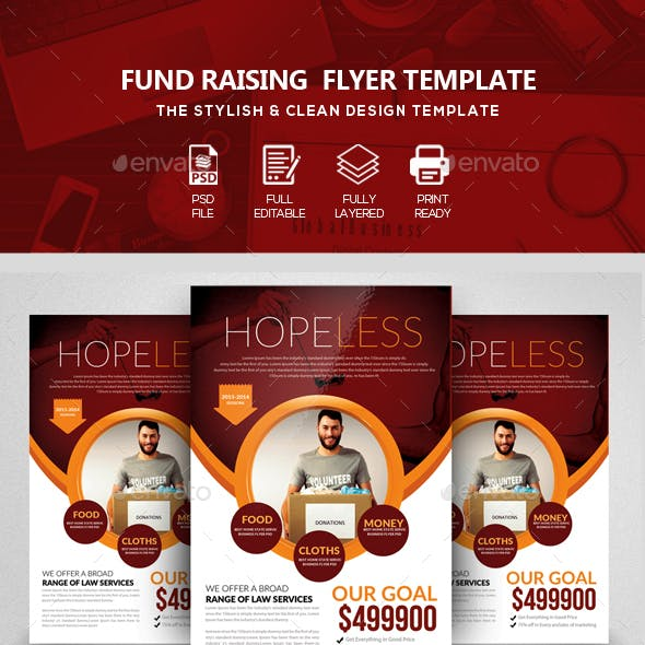 Donation & Charity Flyer Templates