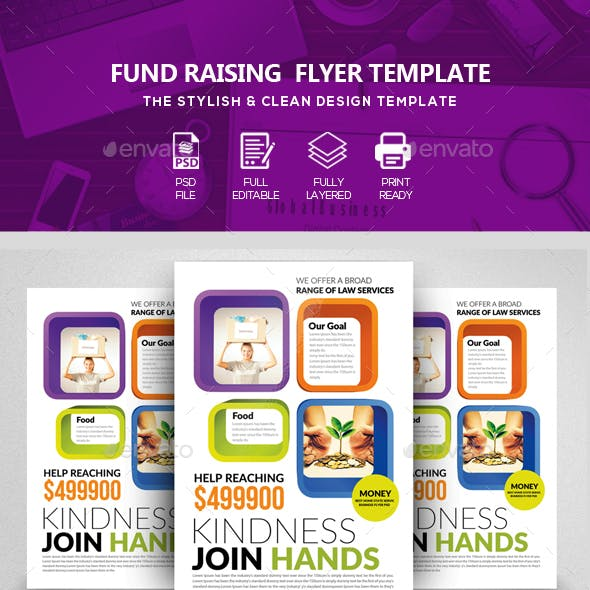 Donation / Fundraising & Charity Flyers