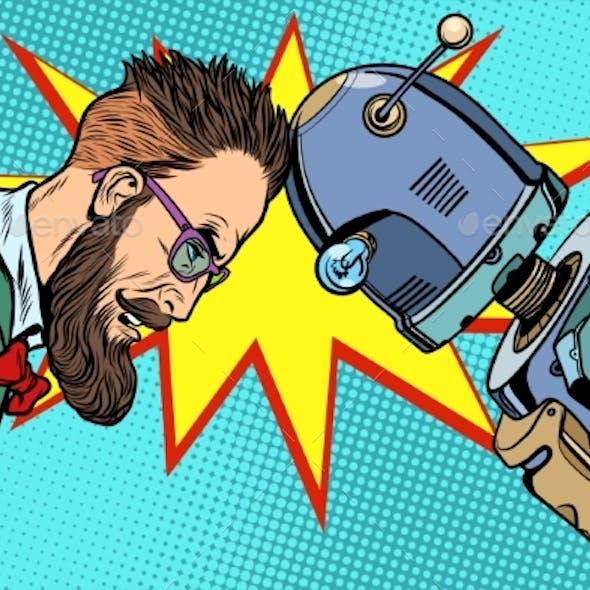 Robot Vs Human, Humanity and Technology