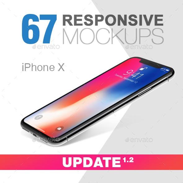 67 Responsive Mockups