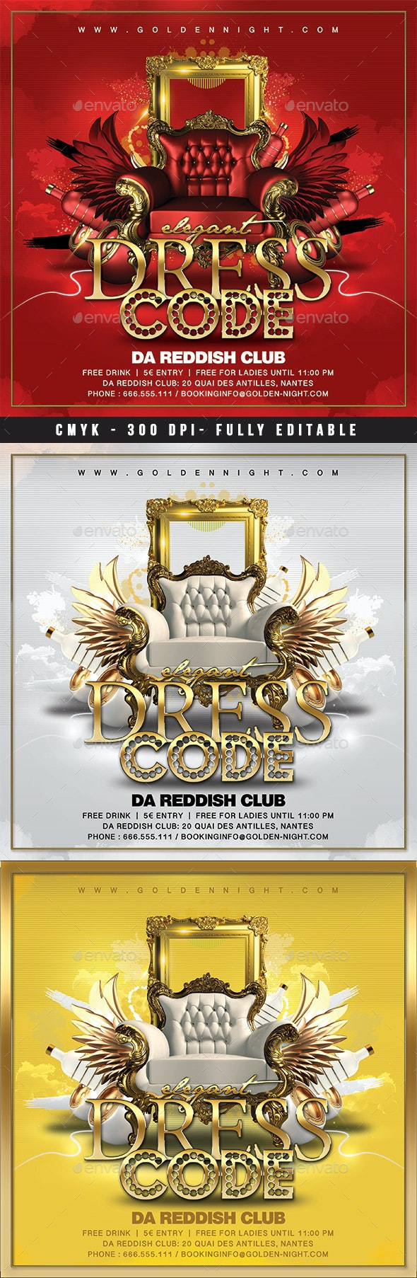 Dress Code Party - Clubs & Parties Events