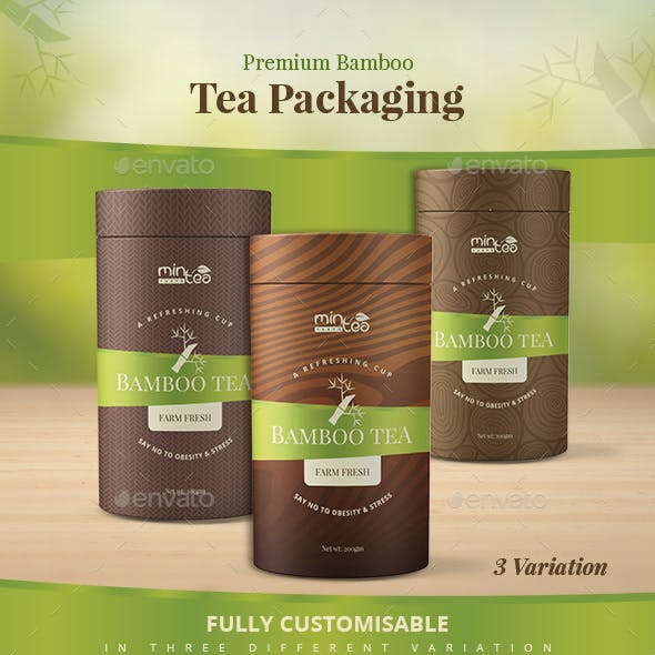 Premium Bamboo Tea Packaging