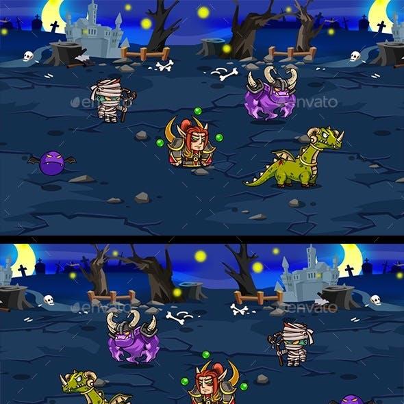 5 RGP Characters - Demon
