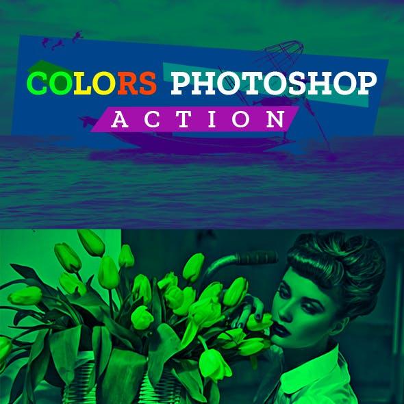 Colors Photoshop Action