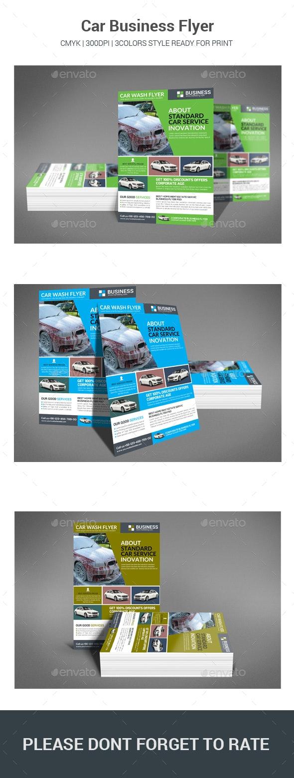 Car Business Flyer - Commerce Flyers