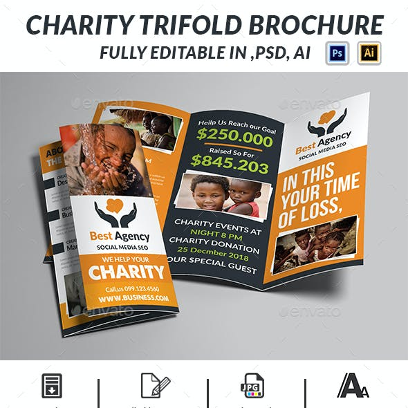 Charity Trifold Brochure
