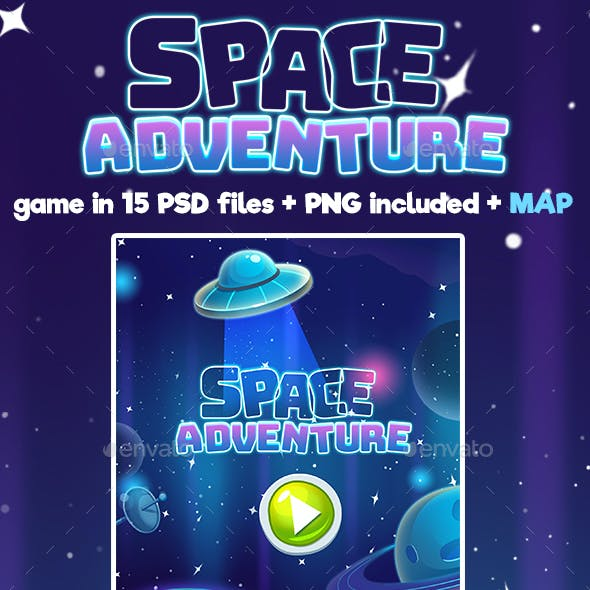 Space Adventure Full Game Set
