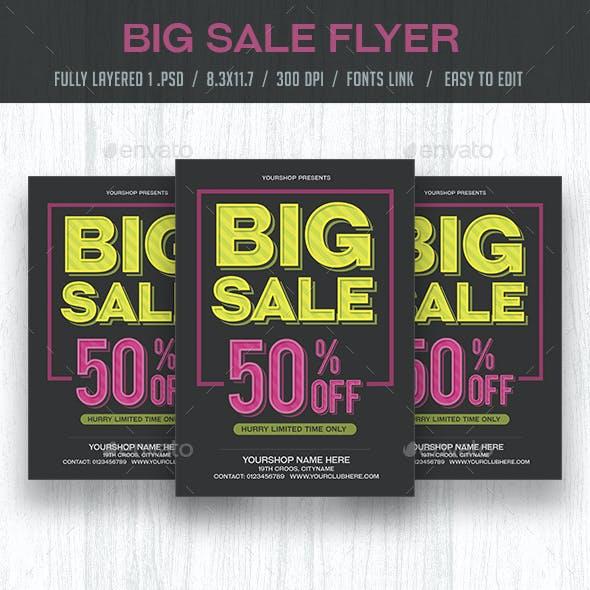 Big Sale Flyer / Poster