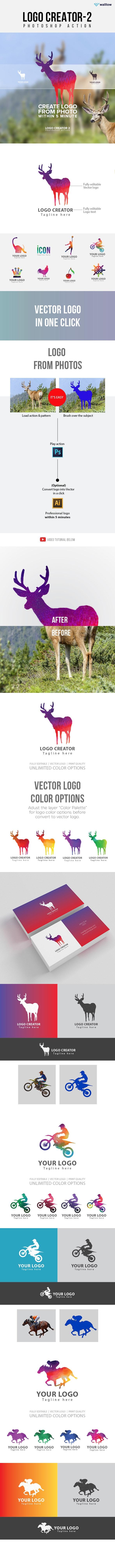 Logo Creator 2 Photoshop Action - Actions Photoshop