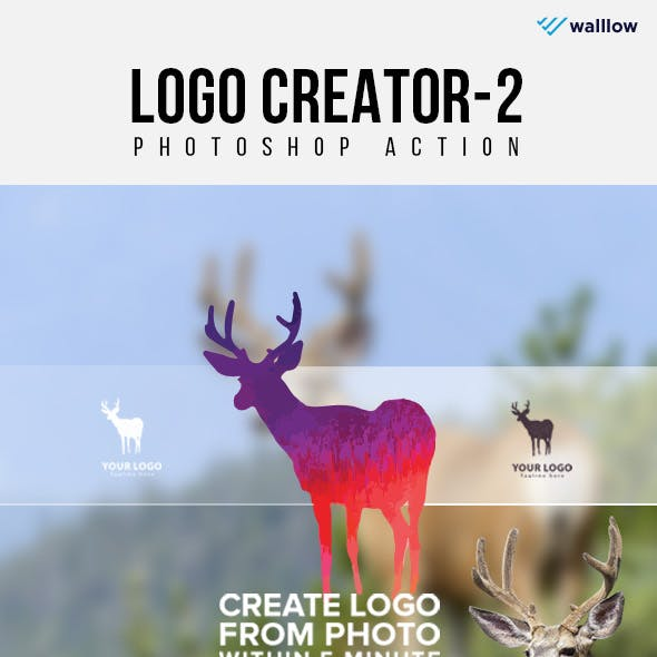 Logo Creator 2 Photoshop Action