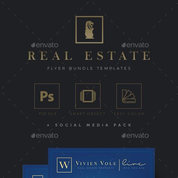 Real Estate Flyer Bundle Templates v.01