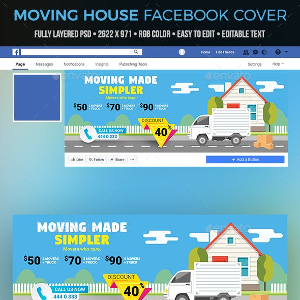 Moving House Facebook Cover
