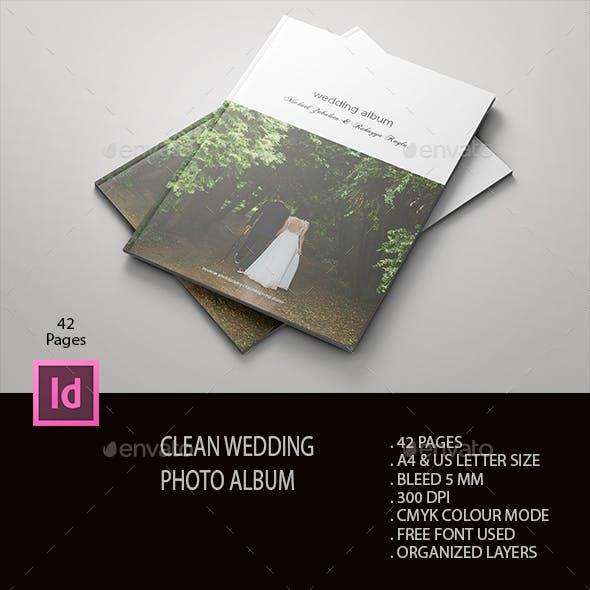 Clean Wedding Album