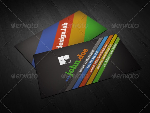 Colorful Business Card - Creative Business Cards