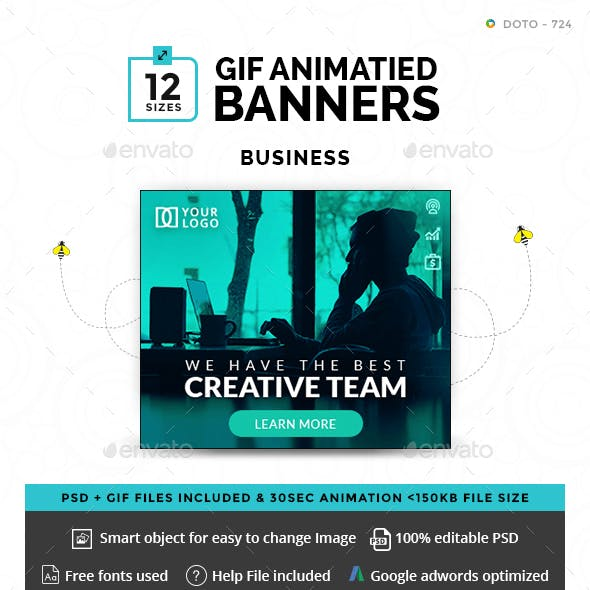Business Animated GIF Banners
