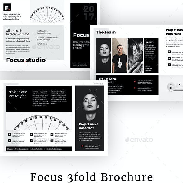 Focus - Agency 3-fold Brochure