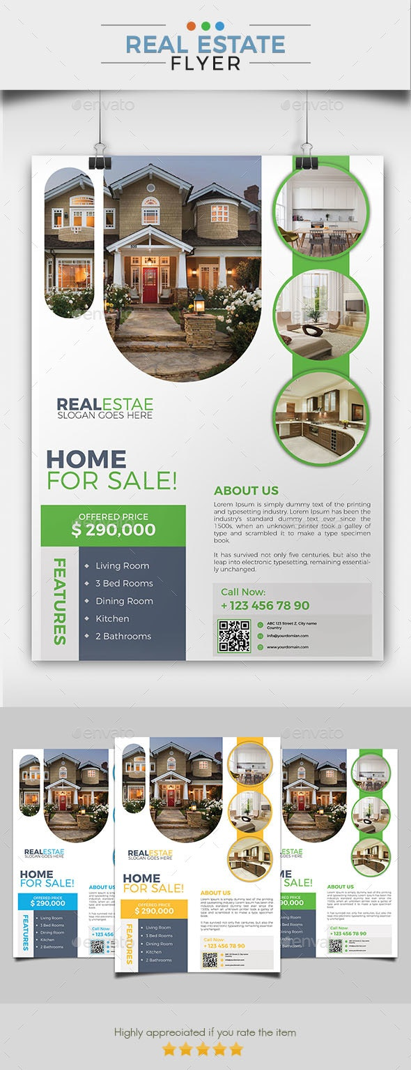 Real Estate Flyer 06 - Commerce Flyers