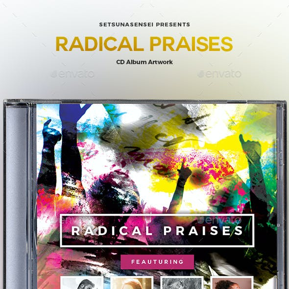 Radical Praises CD Album Artwork