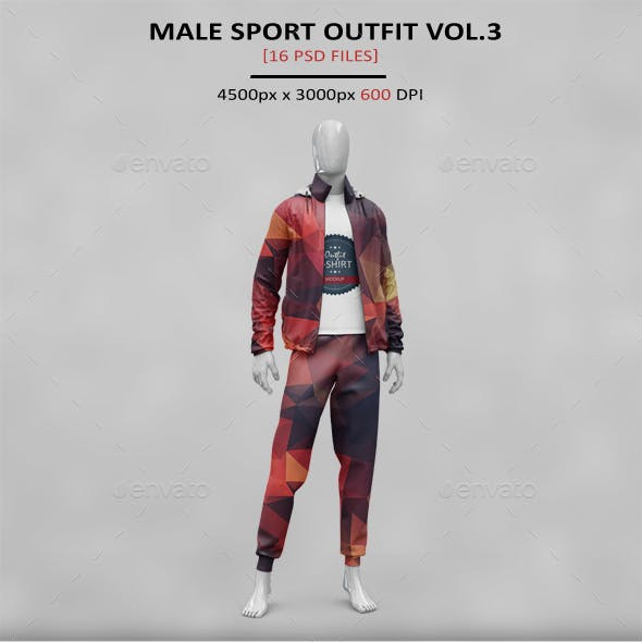 Male Outfit MockUp Vol. 2