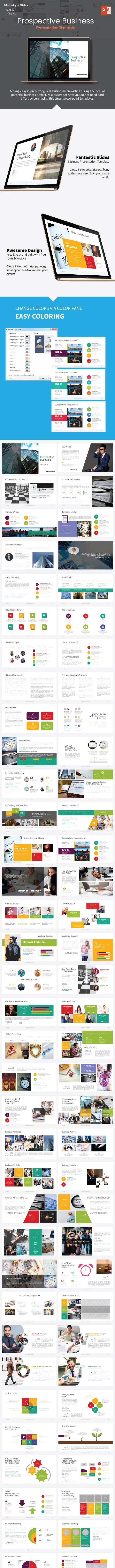Prospective Business Presentation - Business PowerPoint Templates