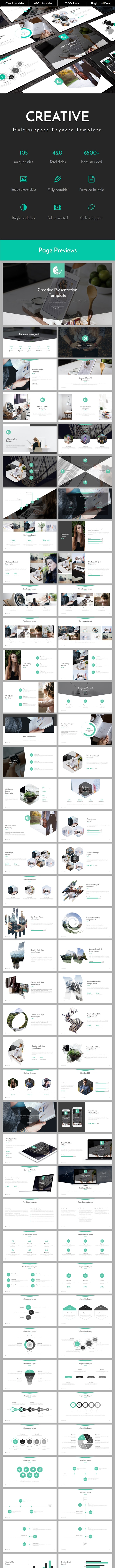 Creative Multipurpose Keynote Template - Business Keynote Templates