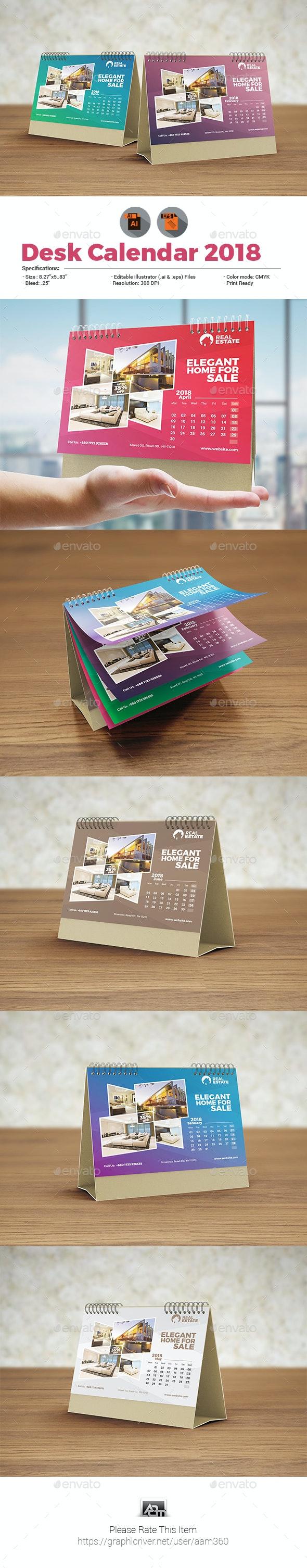 Calendar Template - Calendars Stationery