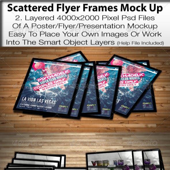 Scattered Frames Mock Up