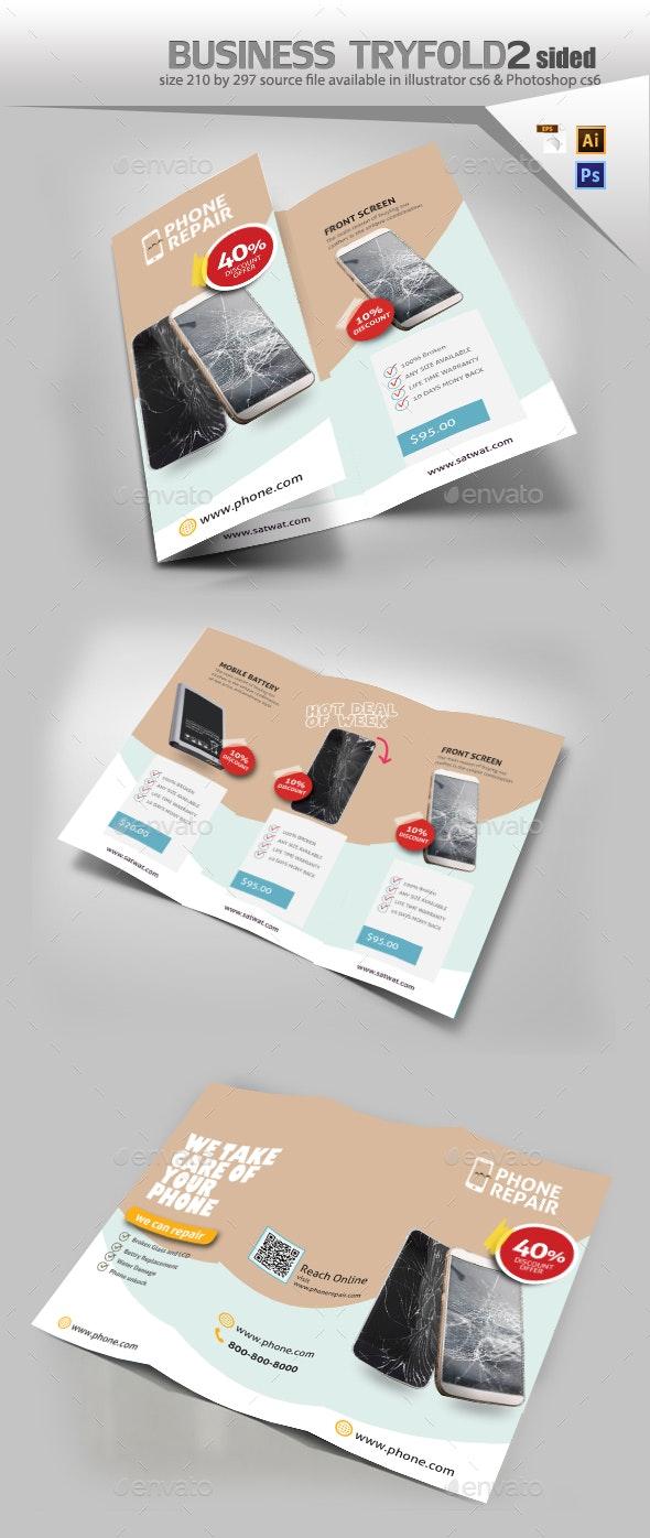 Smartphone Repair Brochure - Brochures Print Templates