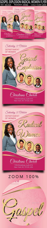 Church Women - Church Flyers