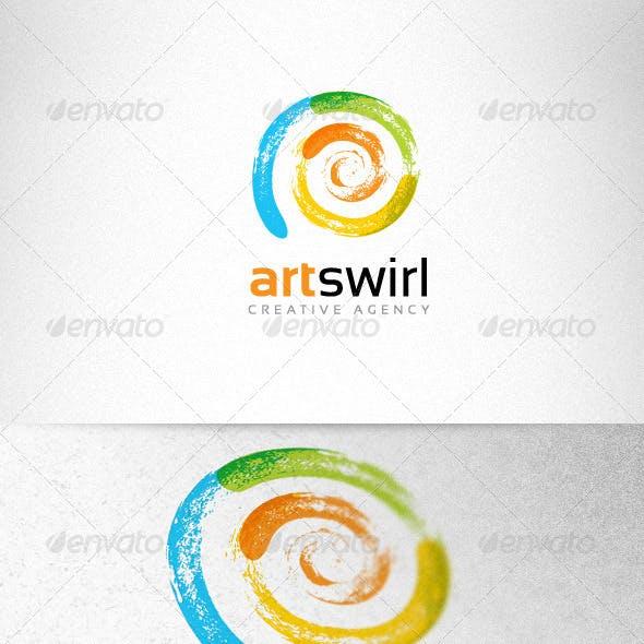 Art Swirl Creative Logo Template
