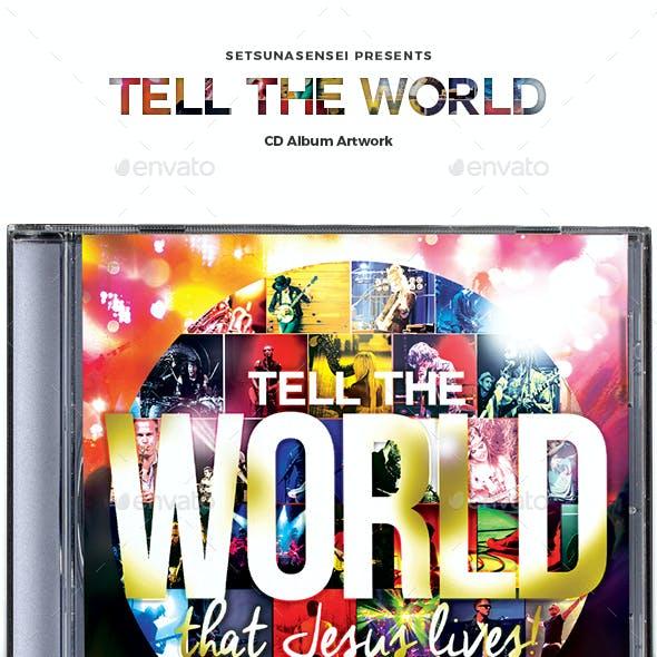 Tell the World CD Album Artwork