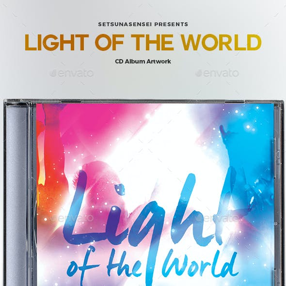 Light of the World CD Album Artwork