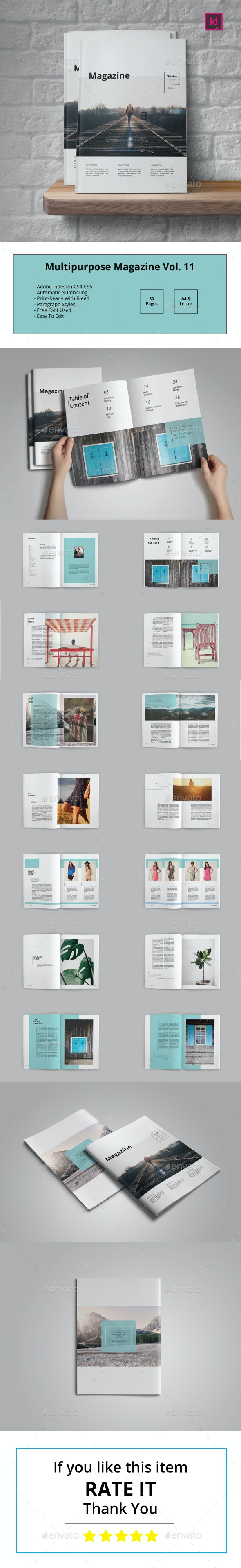 Multipurpose Magazine Vol.11 - Magazines Print Templates