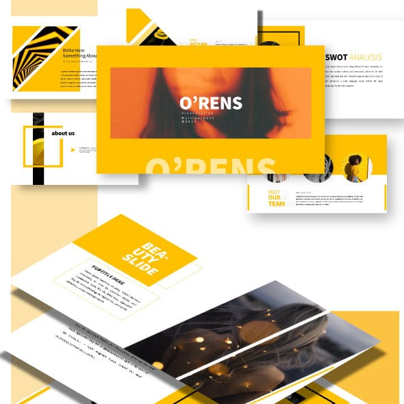 O'rens - Keynote Presentation Templates