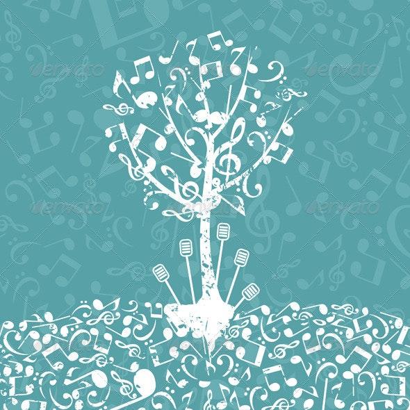 Musical Tree 5 - Flowers & Plants Nature